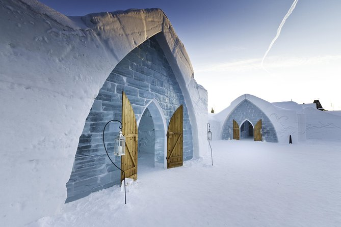 From Quebec city: Ice Hotel Visit and Transportation