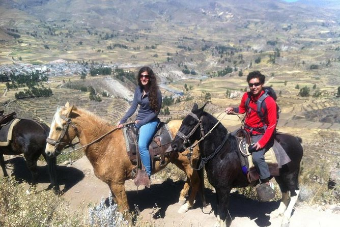 Overnight Tour: Colca Canyon Including Horse Riding from Arequipa