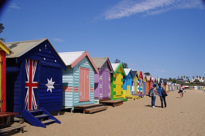 Melbourne Highlights with Brighton Beach and St Kilda Tour