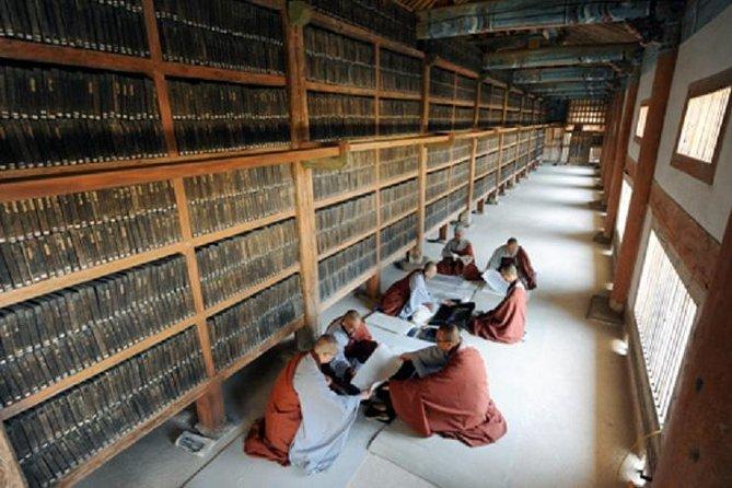 UNESCO Heritage Tour : Haeinsa temple tour in Mt.Gaya with Tripitaka Koreana