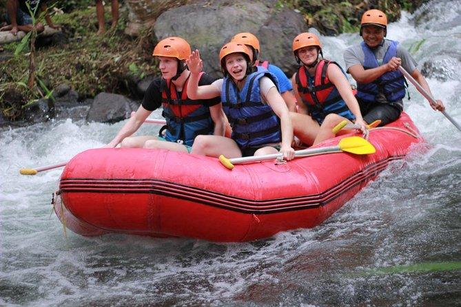 Bali Longest Rafting at Telaga Waja River