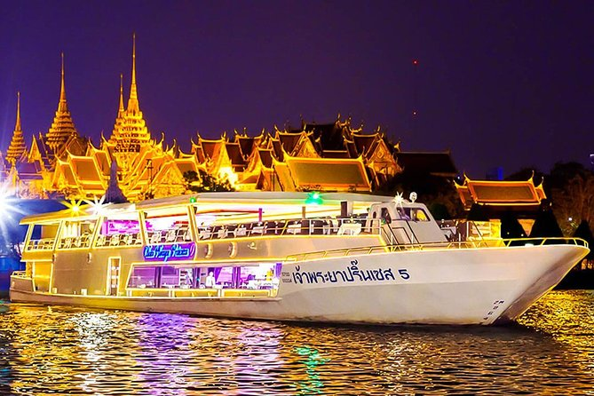 Chaophraya Princess Dinner Cruise in Bangkok with Return Transfer & Live Music