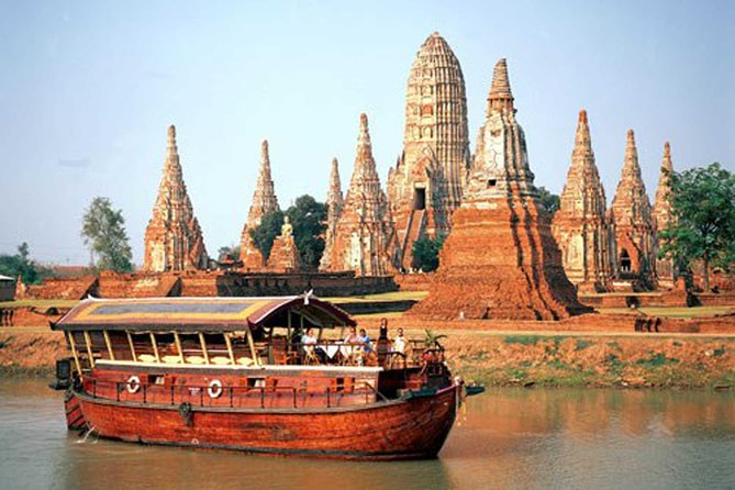 Rice Barge Afternoon River Cruise from Bangkok with Transfer