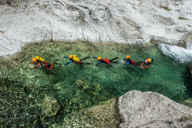 4 Hours Canyoning in the Corsica island : The Canyon of Verghellu