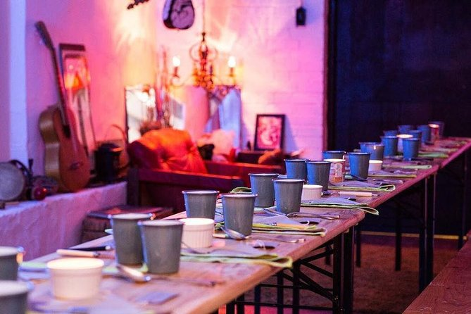 Pop-up Mexican restaurant in a secret location in London