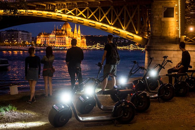 Night Tour in Budapest on MonsteRoller e-Scooter