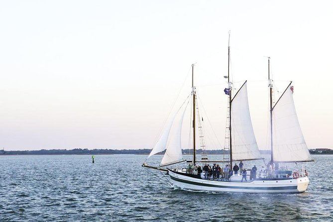Afternoon Schooner Sightseeing Dolphin Cruise on Charleston Harbor