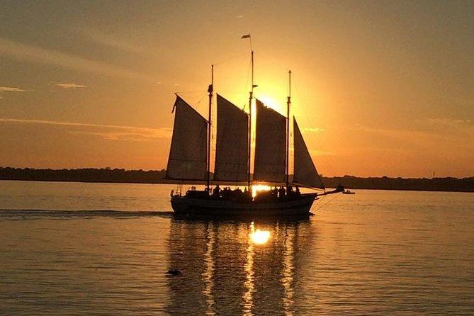 Schooner Sunset Sail on Charleston Harbor
