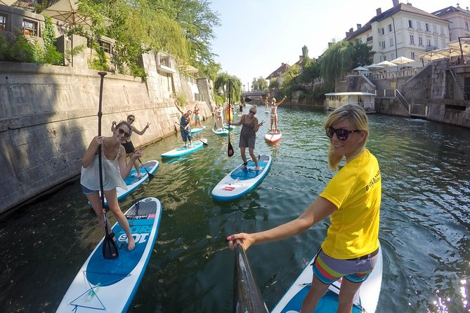 Ljubljana Stand-Up Paddle Boarding Lesson and Tour