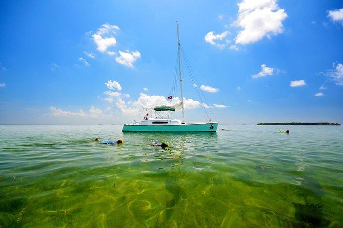 All-In-One Sail, Kayak, Snorkel aboard 32' Java Cat