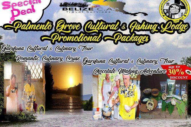 Garifuna Cultural & Culinary Adventure, Romantic Sunset Cruise Combo
