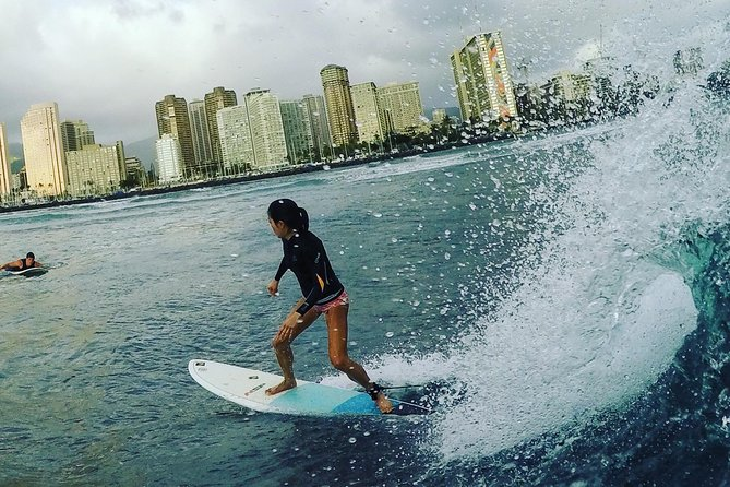 Surfing - One on One Lessons with a Pro Coach - Waikiki, Oahu