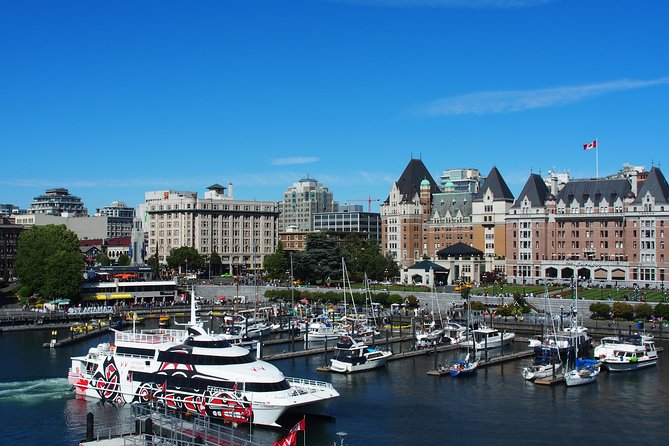 High-speed Passenger Ferry Day Trips from Vancouver to Victoria, BC, Canada