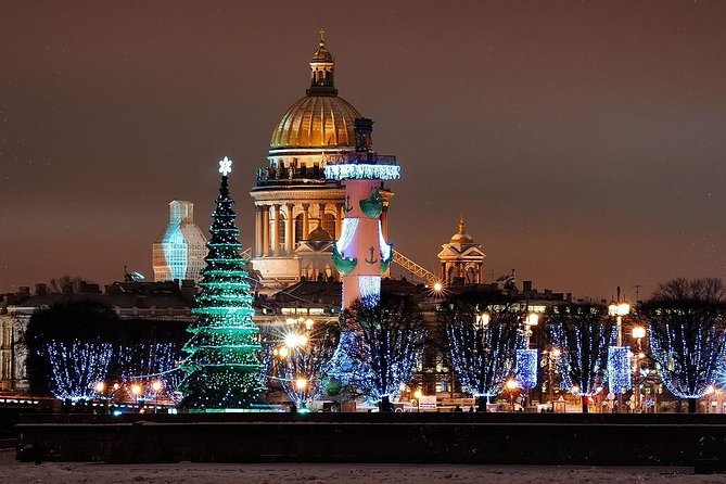 St. Petersburg Winter Fairy Tale and Pavlovsk Palace Tour