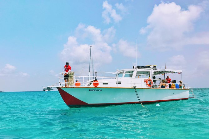 Snorkel Icacos Island aboard The Innovation