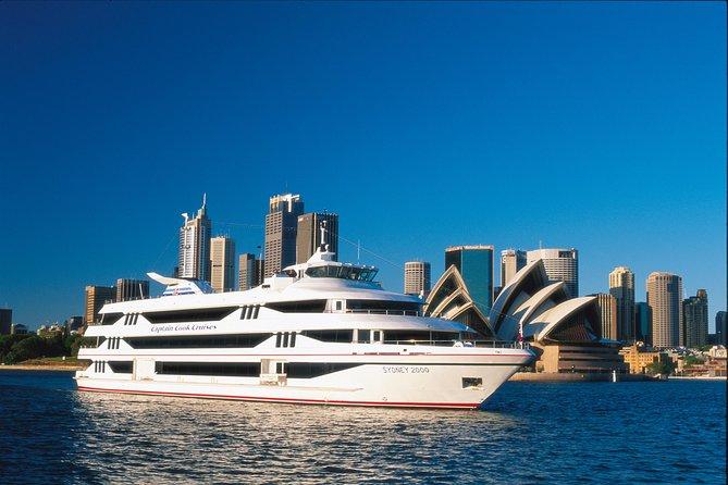 Crucero con almuerzo bufé en el puerto de Sídney