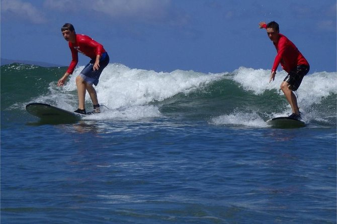Semi-Private Surf Lesson at Kalama Beach in Kihei