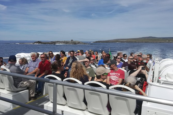 Round-trip boat transfer to Inis Oirr in the Aran Islands from Doolin
