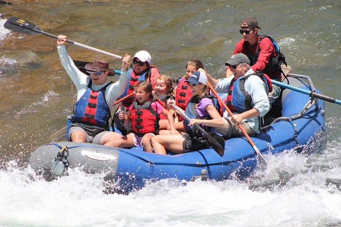 2.5 Hour Family Rafting in Durango with Guide