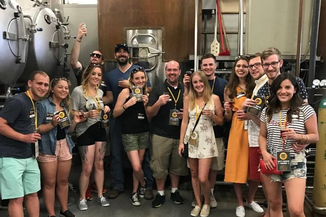 Philadelphia Brewery Tour with Lunch or Dinner