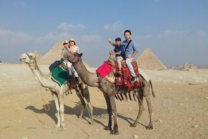 Explore the Pyramids of Giza and Memphis Saqqara