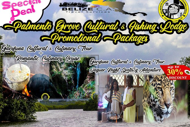 Garifuna Cultural Culinary Adventure & Cockscomb Adventure Combo