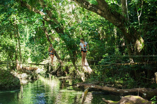 Bridges of Eden: Guided tour including swimming in the river & fruit platter