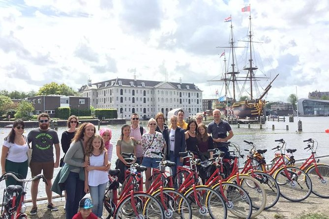 International Group Amsterdam Historical Bike Tour