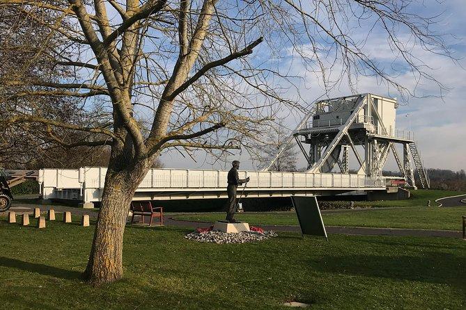 Normandy Canadians Sites Day Trip with Juno Beach & Pegasus Bridge from Paris