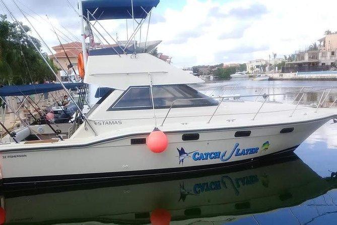 Private Fishing Tour in Yacht Playa del Carmen