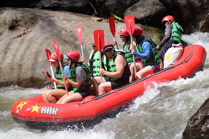 Ubud White Water Rafting