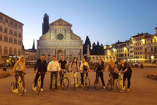 Footbike tour Florence by night