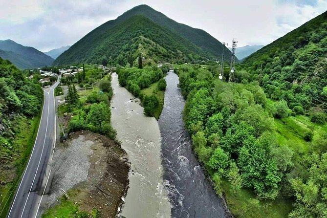 Full Day Tour in Kazbegi Ananuri Gudauri Gergeti