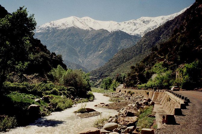 Day trip from Marrakech to Ourika waterfalls, berber villages & Atlas mountains