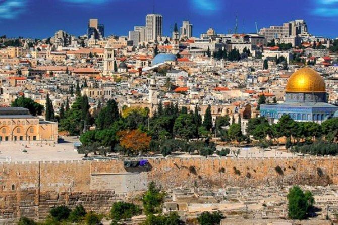 Ashdod Shore Excursion:The Dead Sea and Jerusalem Small Group Tour