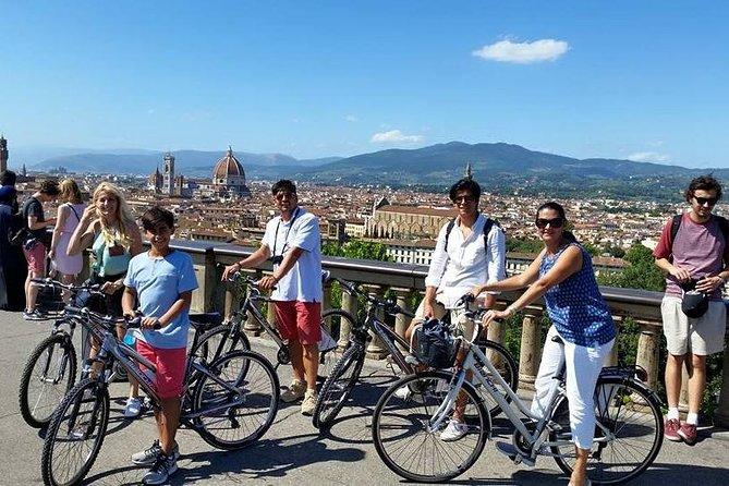 Tour en bicicleta por Florencia con Piazzale Michelangelo.