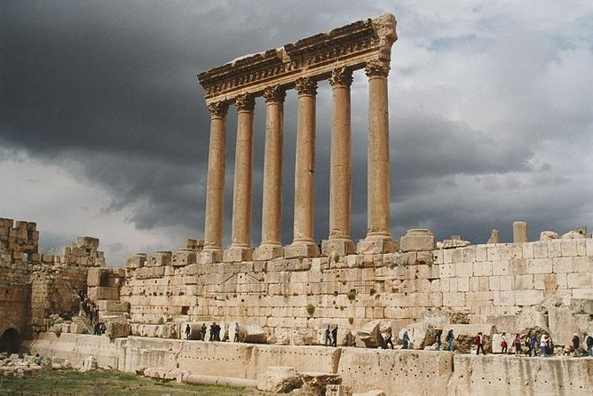 Private Anjar and Baalbek Tour from Beirut with Departure Ticket