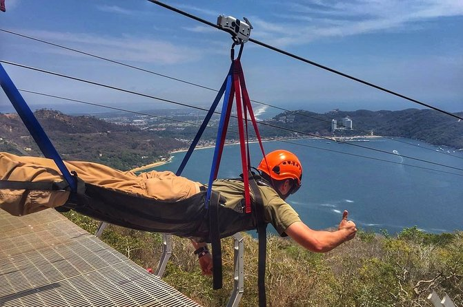 XTASEA ZIPLINE Best Adventure in Acapulco-Chapel of Peace & Baby Turtle Release
