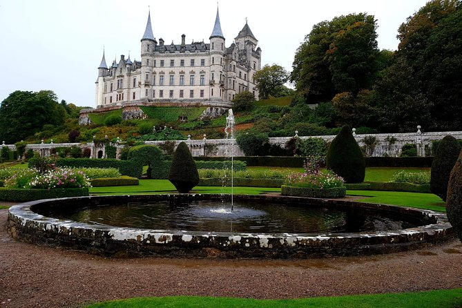 Invergordon port tour to Dunrobin castle
