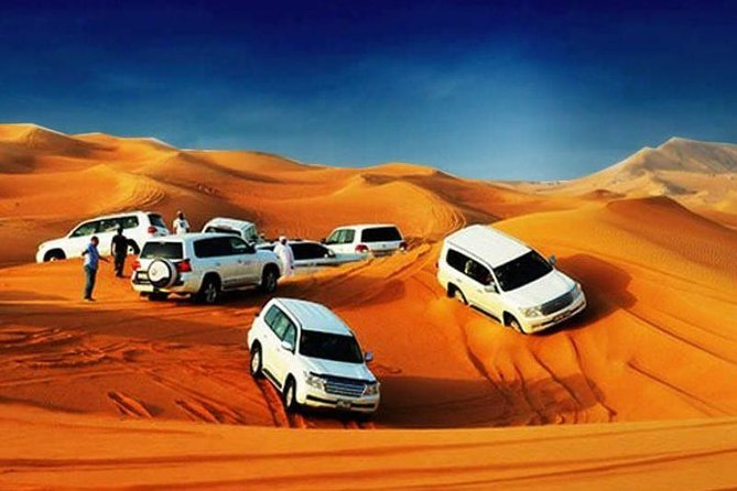 Vip avond Desert Safari pickup en drop van Land Cruiser