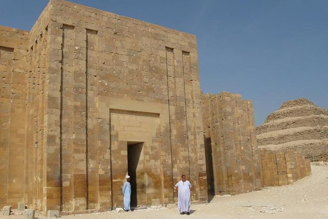 A private tour at Saqqara Pyramids