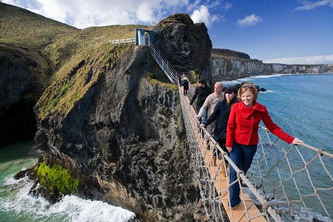 Gita di un giorno al Selciato del Gigante e Ponte di corda di Carrick-a-Rede da Dublino