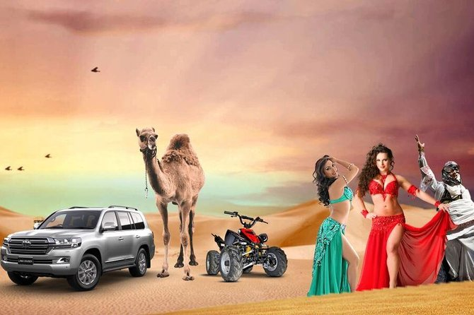 Evening Desert Safari with BBQ Dinner & 7 Live Show's