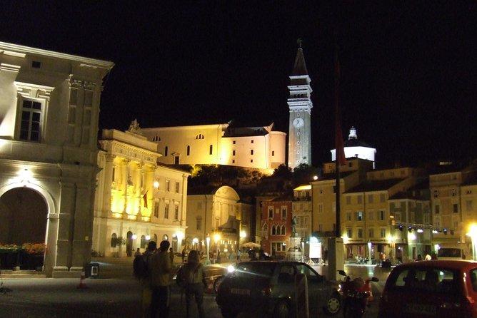 Medieval coast and romantic fish dinner in Piran from Ljubljana at 16:00