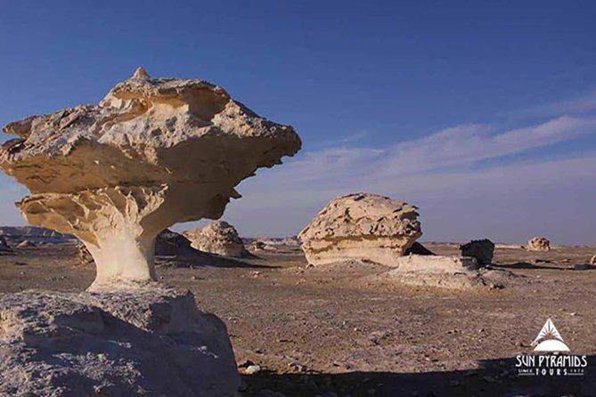 Tour di 2 giorni nel deserto bianco e nell'oasi di Bahariya