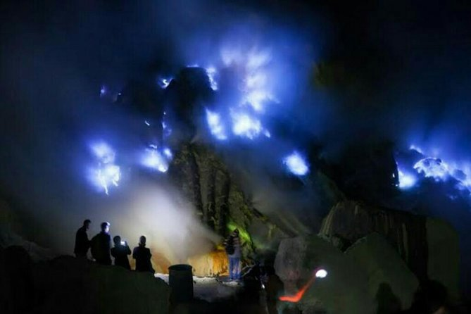 Ijen Volcano Blue Fire and Osing Culture Tour from Bali