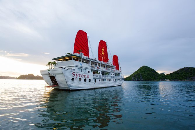 3-Day Halong Bay Syrena Cruise - Included Round Trip Shuttle Bus