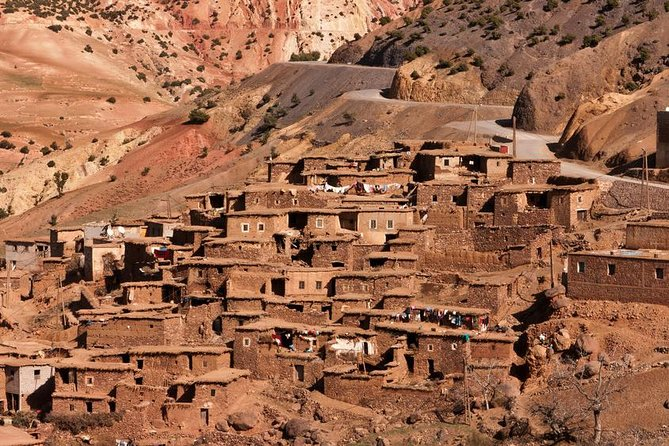 Day trip from Marrakech to Atlas Mountains and berber villages including lunch