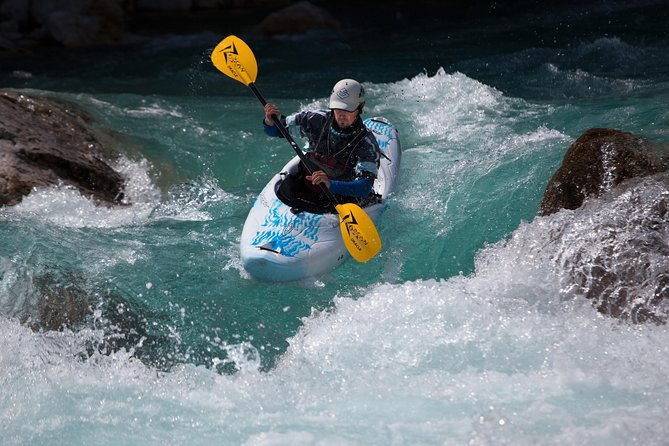 Whitewater Kayak Course on Soca River