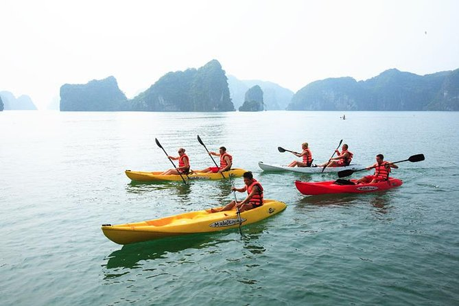 Overnight Halong Bay Cruise on 4-Star White Dolphin photo 1